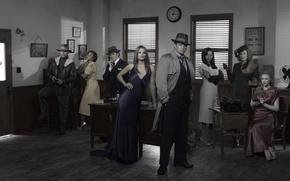 Picture Nathan Fillion, Castle, Castle, Stana Katic, Mill CATIC, Molly Quinn, Nathan Fillion, Esposito, Molly Quinn