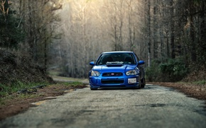 Picture road, Subaru, Impreza, Subaru, Impreza