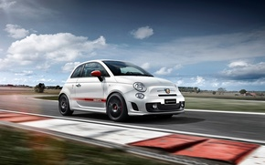 Picture Yamaha, Racing, The front, Edition, Abarth, Anniversary, Factory, 50th, Static, 595
