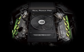 Picture engine, amd, cooler master, power supply, real power pro