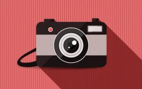 Wallpaper vector, camera, background, lens