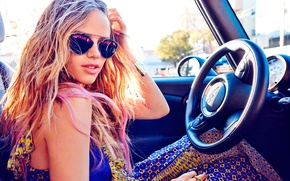 Wallpaper photoshoot, 2015, Seventeen, Halston Sage, Holston Sage