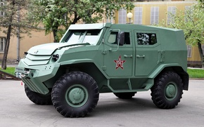Wallpaper Toros, prototype, Armored car