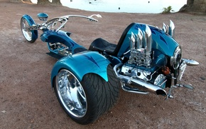 Picture DESIGN, CHROME, TUNING, TRICYCLE, TRIKE