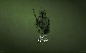 Picture Star Wars, Game of Thrones, Boba Fett, Game of Clones, We Do Not Sow