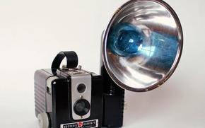 Picture background, camera, Kodak Brownie Hawkeye Flash