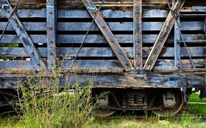 Wallpaper wooden, Dulce Wagon, the car