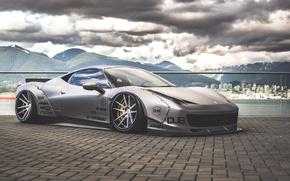 Picture Ferrari, 458, italia, Body, Wide