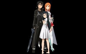 Picture sword, game, anime, fairy, pretty, asian, cute, armour, manga, japanese, Yuuki Asuna, Sword Art Online, …