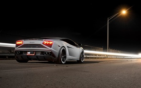 Picture Lamborghini, Gallardo, LP 570-4, Supercar, Rear, Corse, Squadra