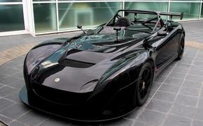 Wallpaper Lotus, Sport, Black