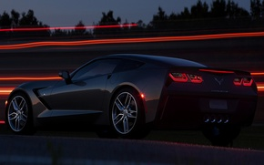 Picture Corvette, Chevrolet, Chevrolet, Corvette, Stingray, Stingray C7