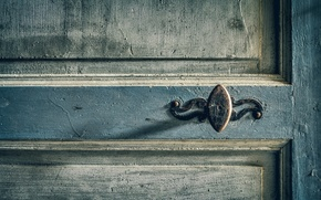 Picture background, the door, handle