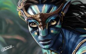 Picture Avatar, Neytiri, Avatar, The film, Neytiri, Zoe Saldana