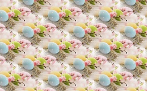 Picture background, texture, spring, Easter eggs