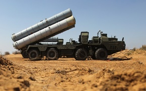 """Picture system, S-400, anti-aircraft, Russian, rocket, range, large and medium, """"Triumph"""""""