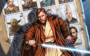 Picture Kenobi, Star Wars, Yoda