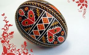 Picture patterns, egg, Easter