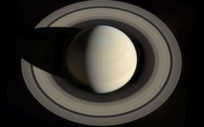 Picture Saturn, ring, planet, space