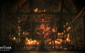 Picture picture, sword, witch, The Wild Hunt, Art, The Witcher, the witch, CD Projekt RED, The ...