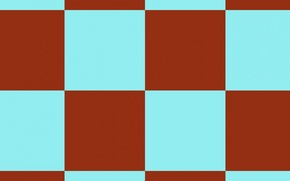 Picture red, background, blue, texture, squares