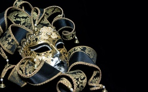 Picture holiday, mask, Italy, carnival