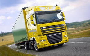 Picture Road, Truck, Holland, DAF, XF105