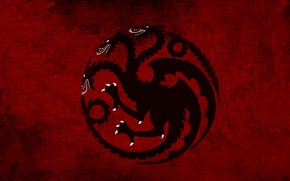 Picture black, dragon, Game of Thrones, Daemon Blackfyre