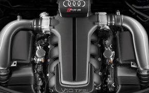 Picture Audi, engine, V10 TFSI