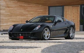 Picture black, tuning, ferrari