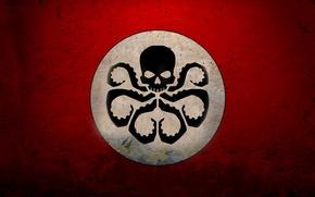 Picture red, white, also Hydra symbol