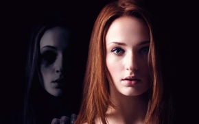 Picture detective, Thriller, poster, Sophie Turner, The eyes of Panda, Another Me