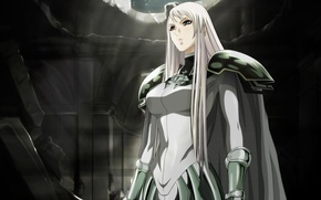 Picture armor, destruction, cloak, claymore, galatea