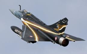 Picture fighter, multipurpose, Dassault Mirage, 2000D