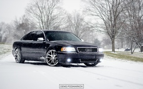 Picture Audi, winter, a8