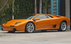 Picture the concept, supercar, prototype, Lamborghini Diablo Styling Prototype 2000