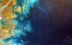 Picture space, the ocean, planet, Australia, Earth, NASA, the, photo, Australia