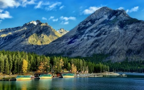 Picture forest, Marina, Canada, Albert, Banff National Park, Alberta, Canada, court, Banff, Canadian Rockies, Canadian Rockies, …