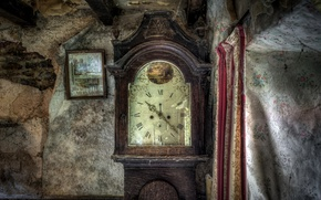 Wallpaper watch, time, house