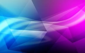Picture triangles, minimalism, gradient