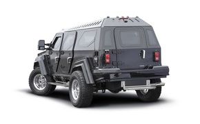 Picture SUV, armored, Knight XV, Conquest Vehicles