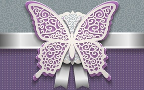 Picture patterns, butterfly, decoration, paper