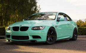 Picture green, bmw, BMW, turbo, wheels, tuning, power, germany, e92, people, toyo