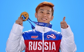 Picture Russia, Sochi 2014, The XXII Winter Olympic Games, Viktor Ahn, short track