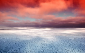 Picture sea, the sky, clouds, the ocean, sky, sea, ocean, clouds
