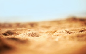 Wallpaper nature, macro, beach, sand, sand