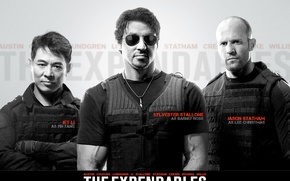 Picture The Expendables, the expendables, Stallone, Statham