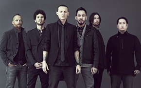 Picture Linkin Park, Mike Shinoda, Chester Bennington, Photo, Linkin Park, Phoenix, promo 2012, Joe Hahn, Rob ...