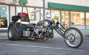 Wallpaper bike, motorcycle, tricycle