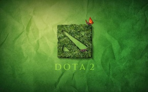 Picture Greens, Grass, The game, Butterfly, Paper, Green, Earth, Stone, Orange, Sign, Lawn, Dota 2, DotA …